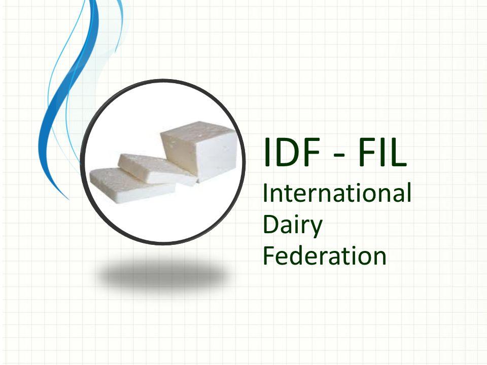 IDF - FIL International Dairy Federation
