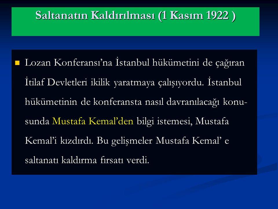 Mudanya Mütarekesi, yeni Türk bir başarısıdır. Sevr Antlaşmasını geçersiz kılmış, Lozan Antlaşmasına ortam hazırlamıştır. Böylece yeni Türk Devleti, I