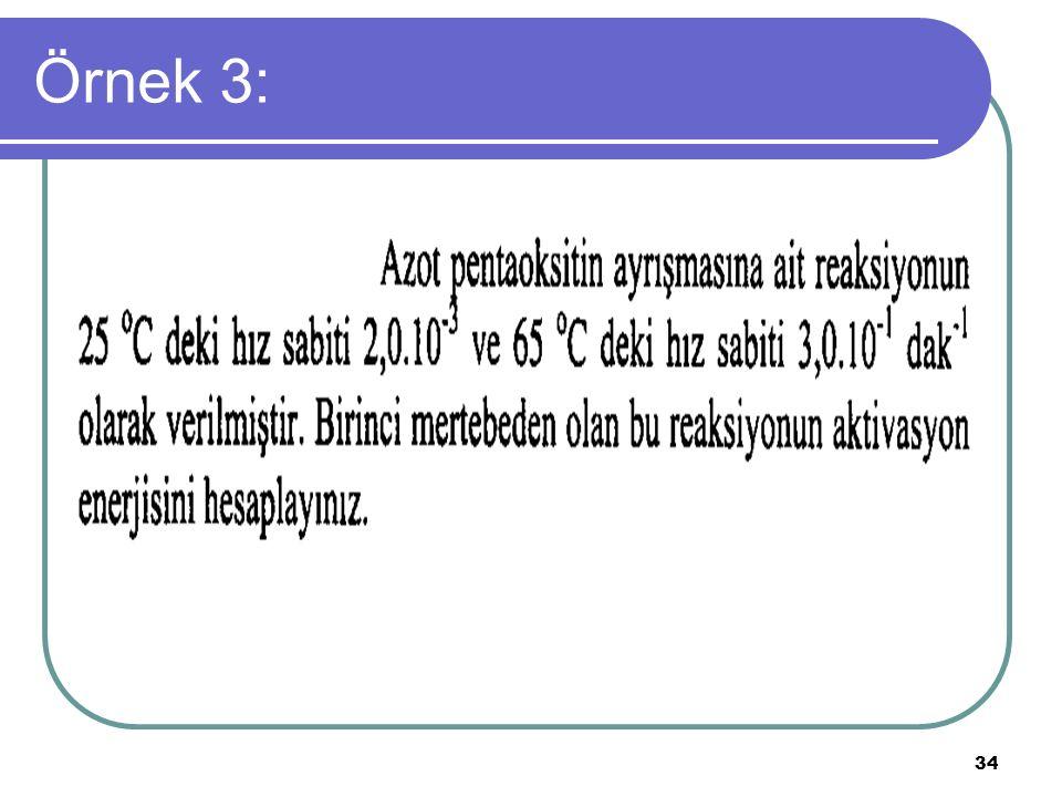 34 Örnek 3: