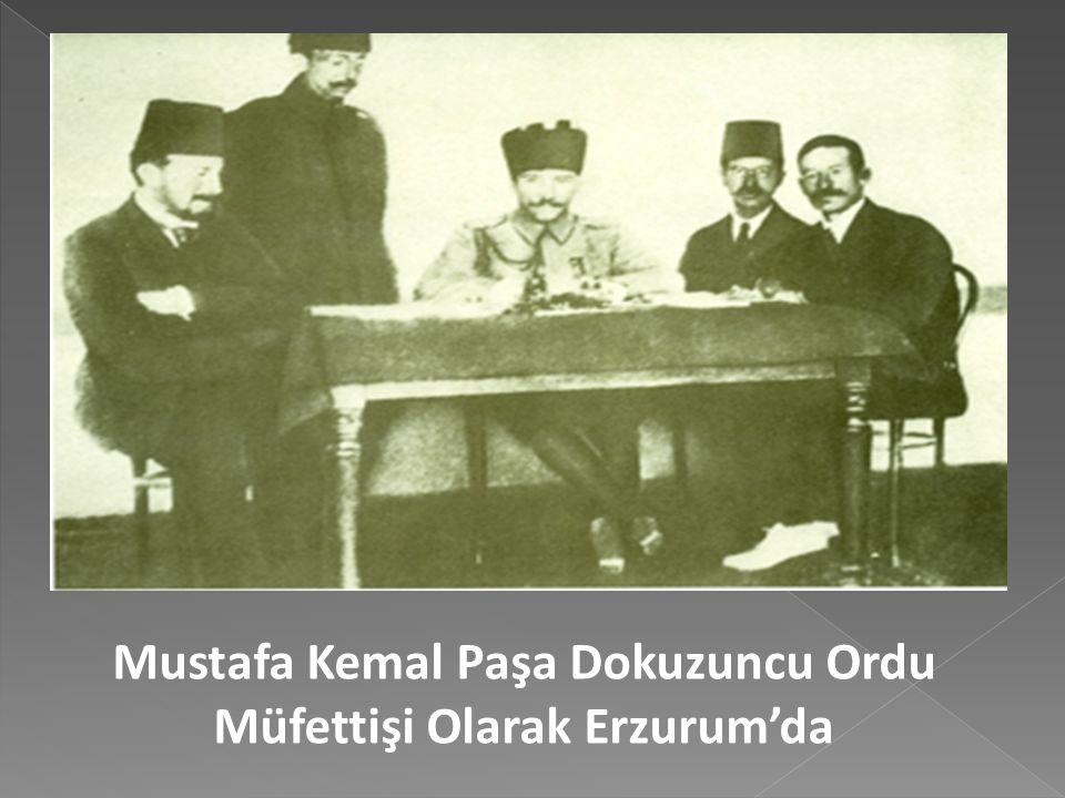 Erzurum Kongresi bölgesel kaygılarla toplandığı için katılımda yerel olmuştu, ancak Mustafa kemal'im iştirakiyle kongre ulusal nitelikte kararlar almı