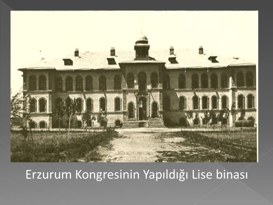 Mustafa Kemal Paşa Dokuzuncu Ordu Müfettişi Olarak Erzurum'da