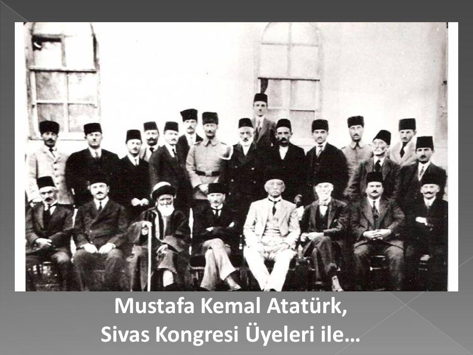 """Erzurum Kongresinin Temsil Heyeti'ne ilişkin """"Heyet-i Temsiliye Şarki Anadolu'nun heyet-i umumiyesini temsil eder"""" ibaresi Sivas'ta """"Heyet-i Temsiliye"""