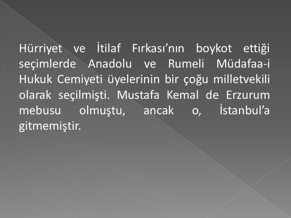 Seçimler sonrası İstanbul'da yaşanacak siyasal gelişmeleri izleyebilmek, cephelerle yakından ilişki kurabilmek gibi nedenlerle gerçekleşen bu yolculuk