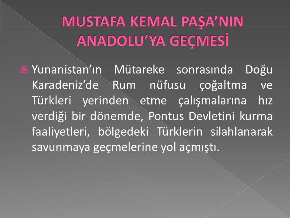 Mustafa Kemal Anadolu'ya geçmeden önce geldiği İstanbul'da; -- Düşüncelerini yaymak için Fethi Bey ile birlikte Minber gazetesini çıkarmıştır. --Mecli