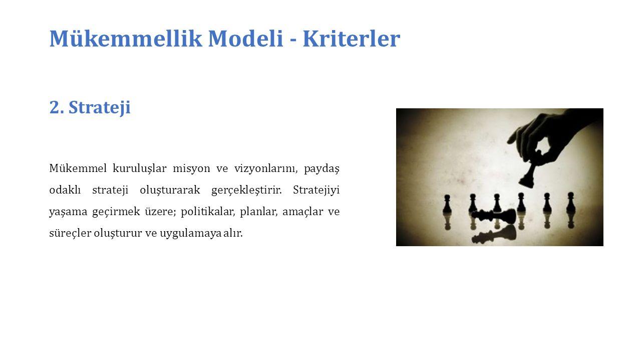Mükemmellik Modeli - Kriterler 2.
