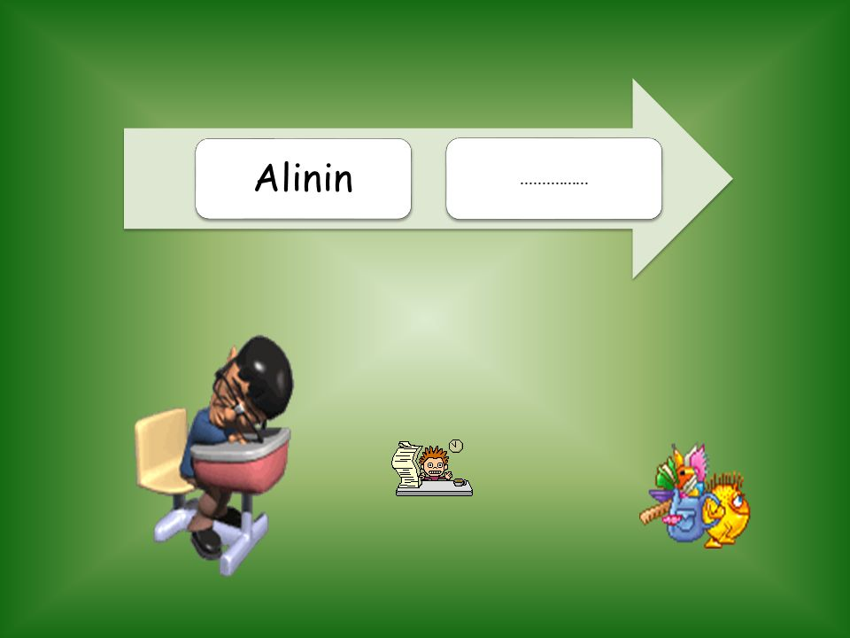 Alinin................