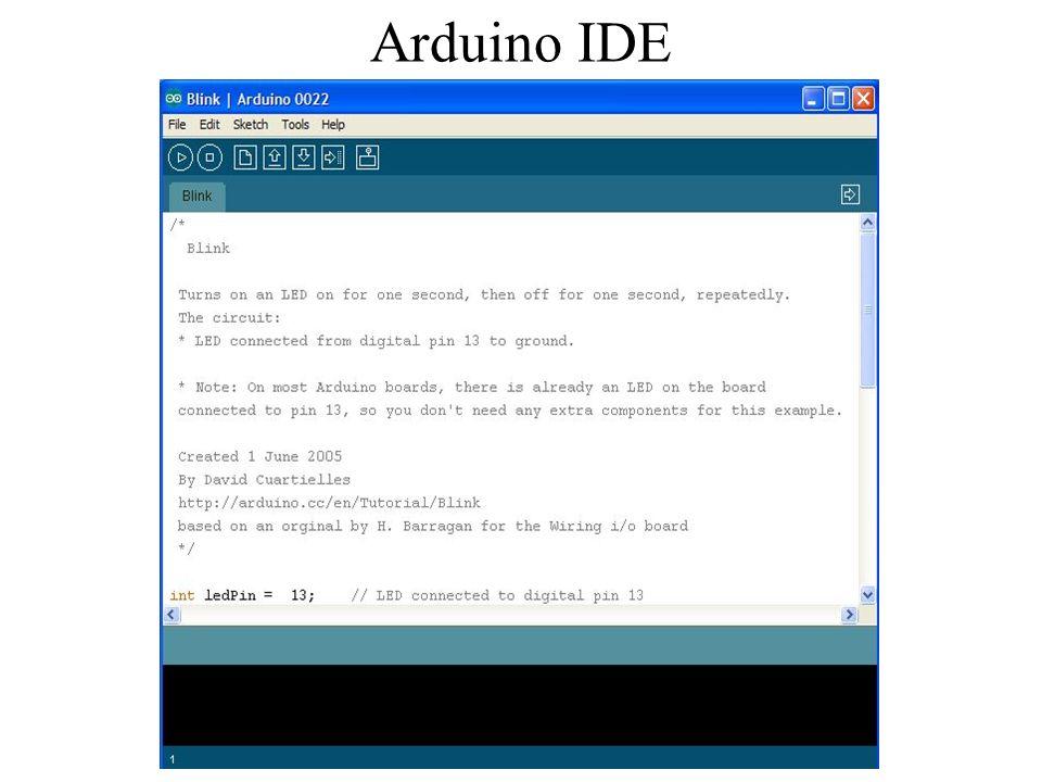 Arduino IDE AB'15 Arduino ile sensörler dersi