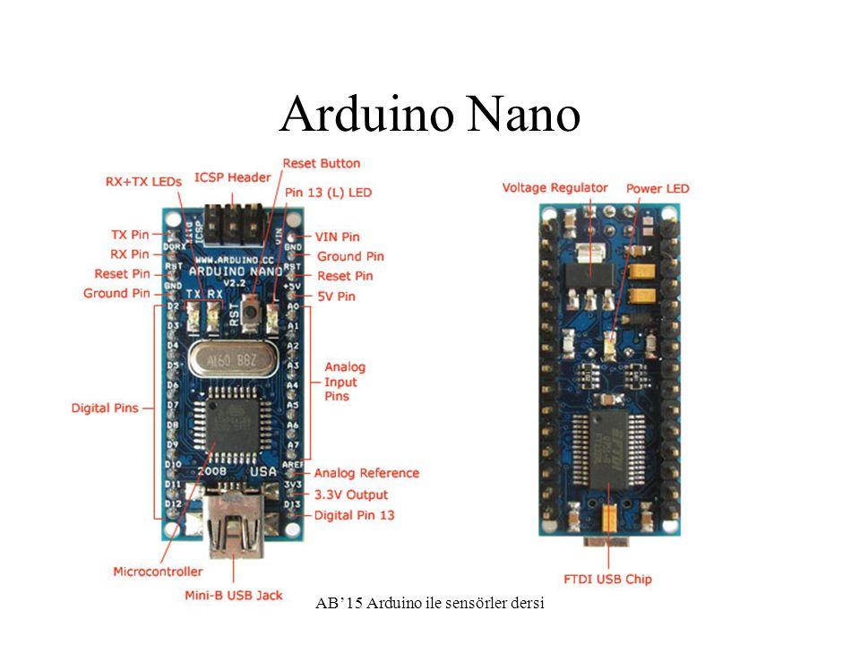 Arduino uygulamaları 5*3 saat Arduino platformu ve açık donanım tanıtımı Temel fonksiyonların anlatım Led yakma, buton okuma, Sensör uygulamaları, ldr, ntc okuma Ultrasound ile mesafe ölçme uygulamaları yapıldı.
