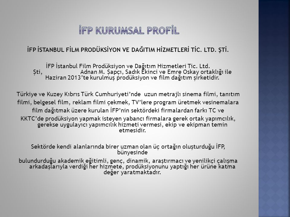 İFP'NİN KURUCU ORTAKLARI Adnan M.