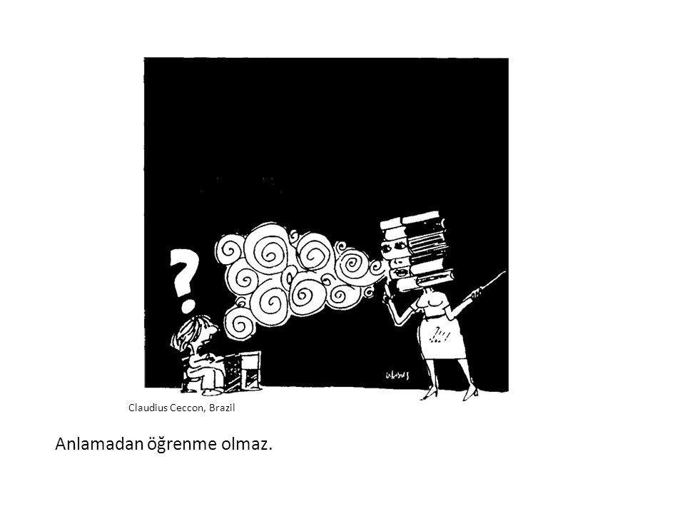 Enformasyonu öğütmek öğrenmeye eşit değildir. Fernandes, Brazil