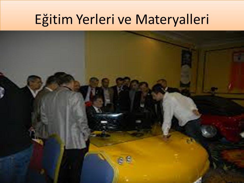 www.cemalsahin.comwww.cemalsahin.co m 12 Eğitim Yerleri ve Materyalleri
