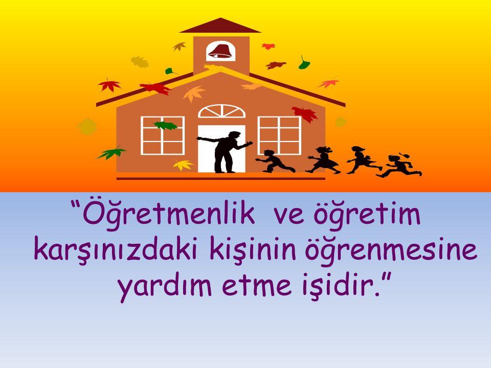 """www.cemalsahin.comwww.cemalsahin.co m 14 """"Öğretmenlik ve öğretim karşınızdaki kişinin öğrenmesine yardım etme işidir."""""""