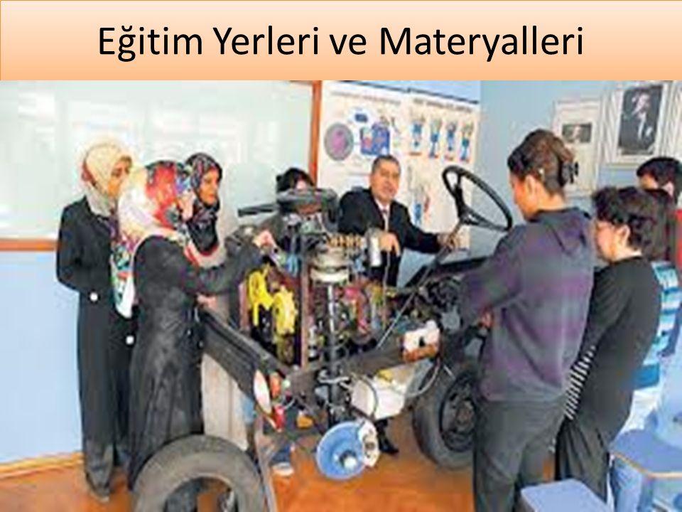 www.cemalsahin.comwww.cemalsahin.co m 9 Eğitim Yerleri ve Materyalleri