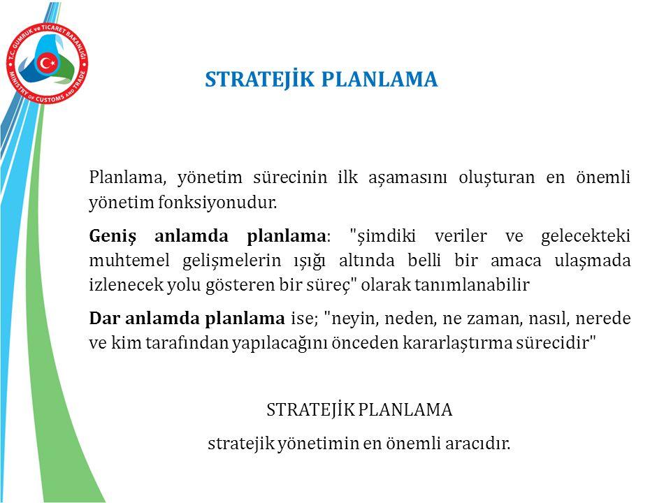 Planlama, yönetim sürecinin ilk aşamasını oluşturan en önemli yönetim fonksiyonudur.