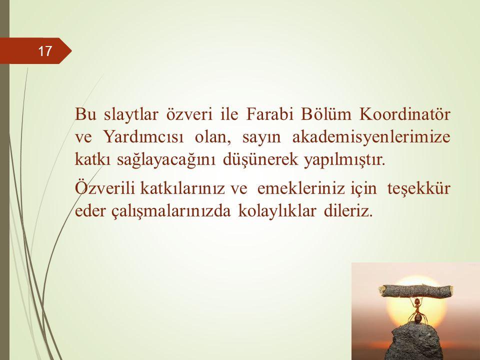 İYİ ÇALIŞMALAR Prof.Dr.M.
