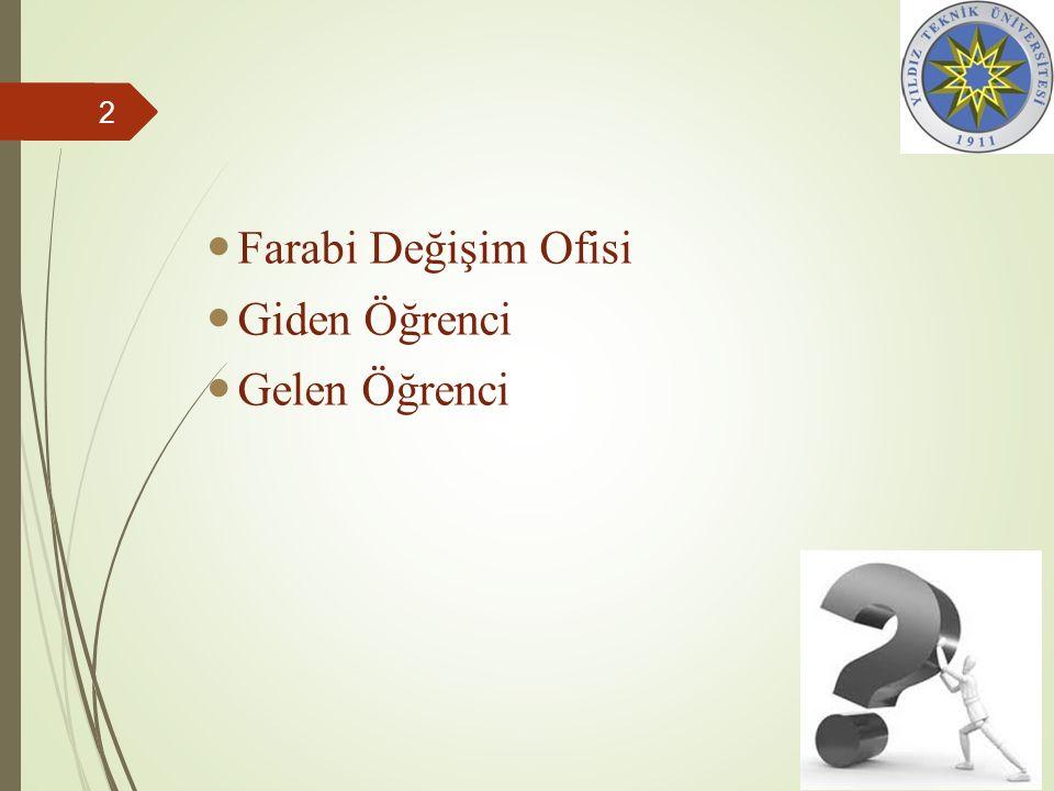 Farabi Değişim Ofisi Giden Öğrenci Gelen Öğrenci 2