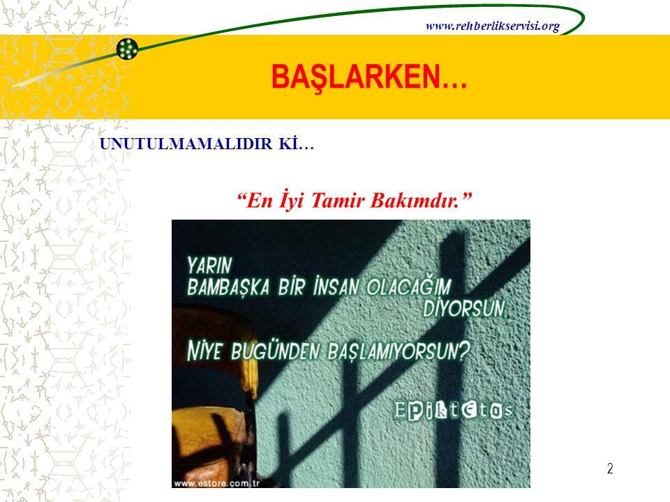 12 POZİTİF KİŞİLİK YAPISI www.rehberlikservisi.org