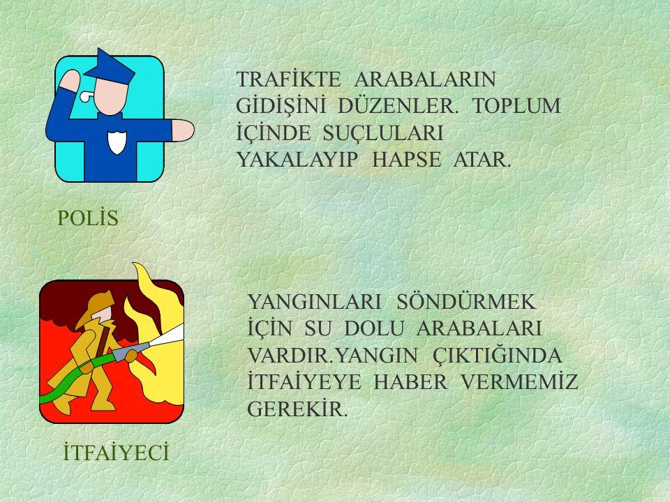 POLİS İTFAİYECİ TRAFİKTE ARABALARIN GİDİŞİNİ DÜZENLER.