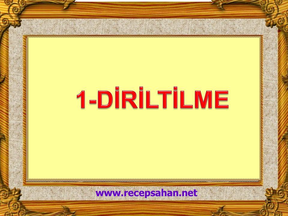 10 www.recepsahan.net