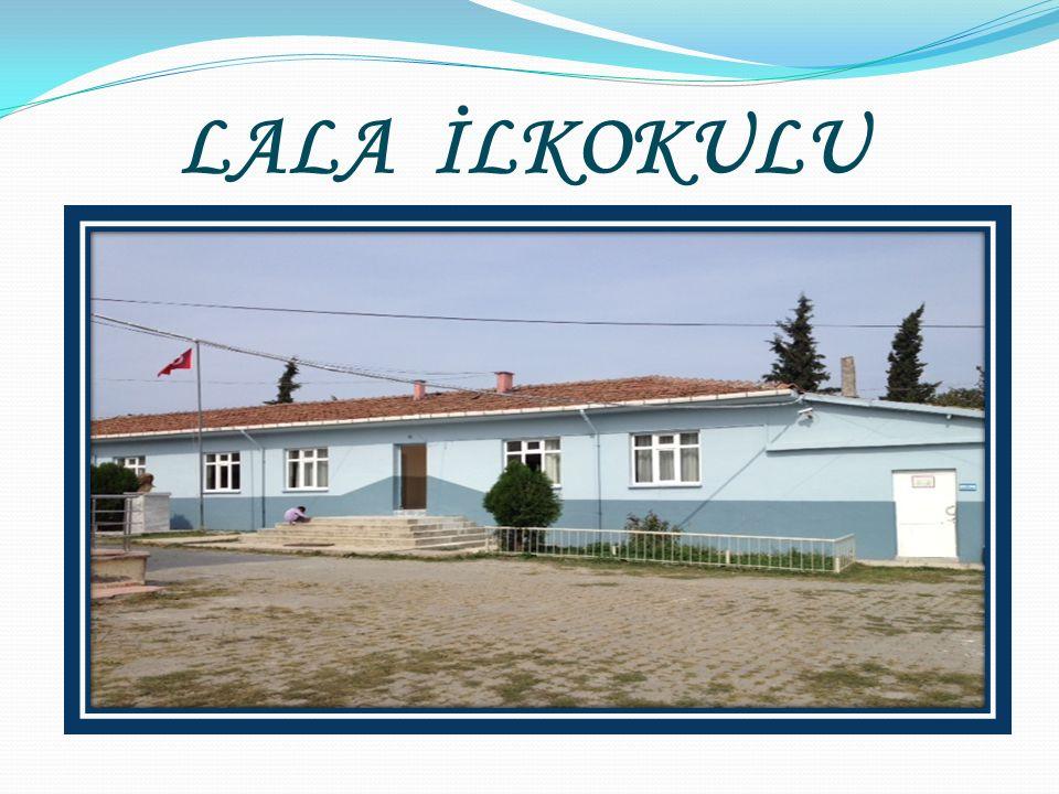 Lala Köyünde ilkokul 1930 yılında açılmıştır.Bu okul şimdiki cami arası üzerindeki iki katlı ahşap bina olup 1950 yılına kadar hizmet görmüştür.