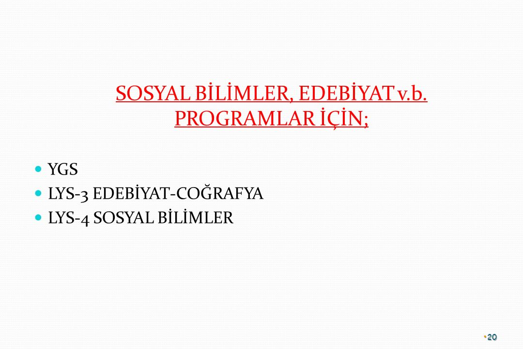 SOSYAL BİLİMLER, EDEBİYAT v.b.