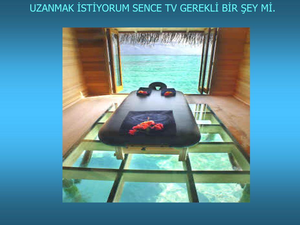UZANMAK İSTİYORUM SENCE TV GEREKLİ BİR ŞEY Mİ.