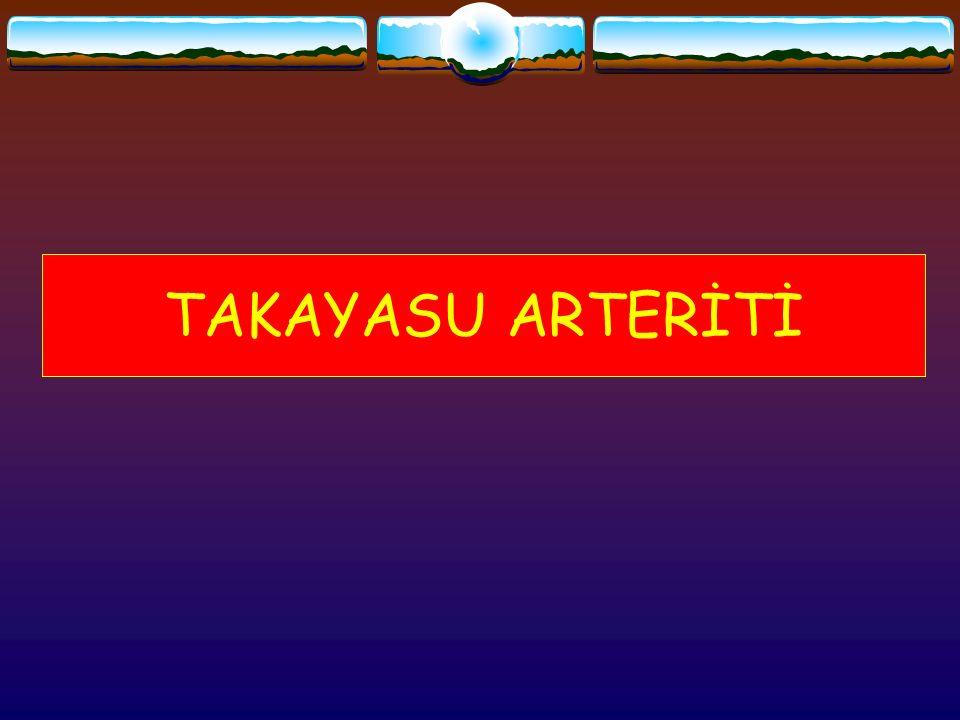 TAKAYASU ARTERİTİ