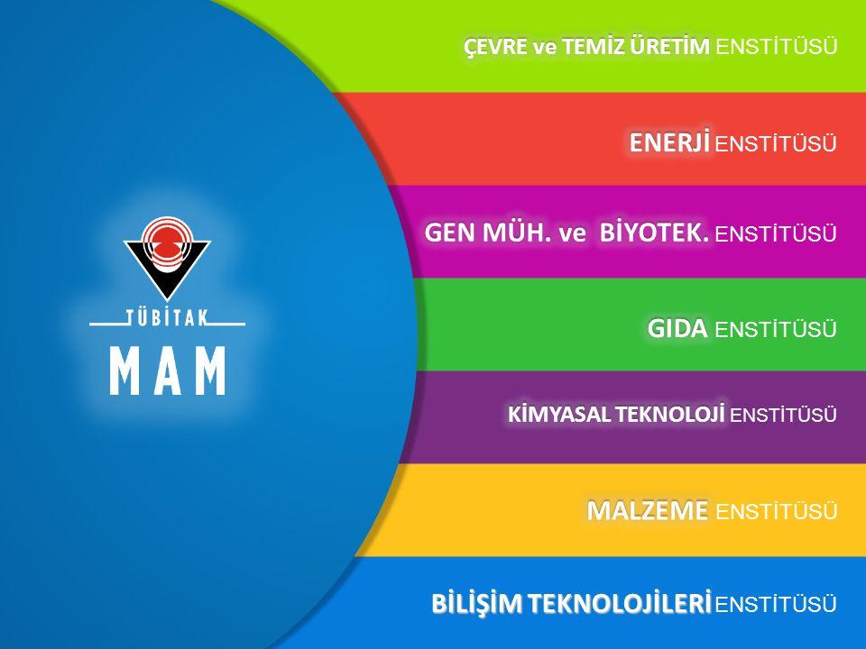 MAM Enstitüleri BİLİŞİM TEKNOLOJİLERİ BİLİŞİM TEKNOLOJİLERİ ENSTİTÜSÜ