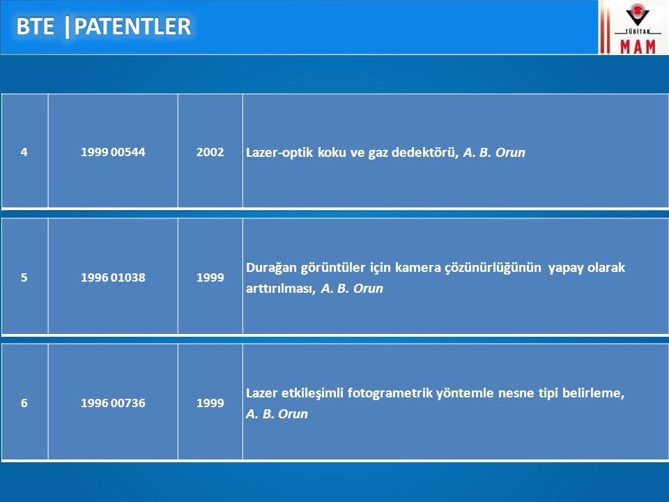 41999 005442002 Lazer-optik koku ve gaz dedektörü, A.