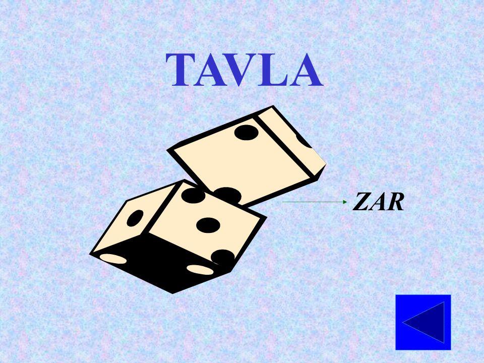 TAVLA ZAR