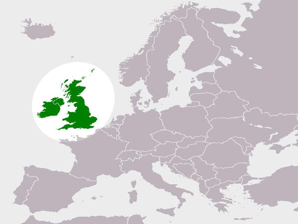 İNGİLTERE Başkent: Londra Resmi dil: İngilizce Yönetim: Federal Parlementer Monarşi Yüzölçümü (km2): 130.395 Nüfus: 59.647.790(2007) Gelişmişlik endeksi: 0.94 (yüksek)