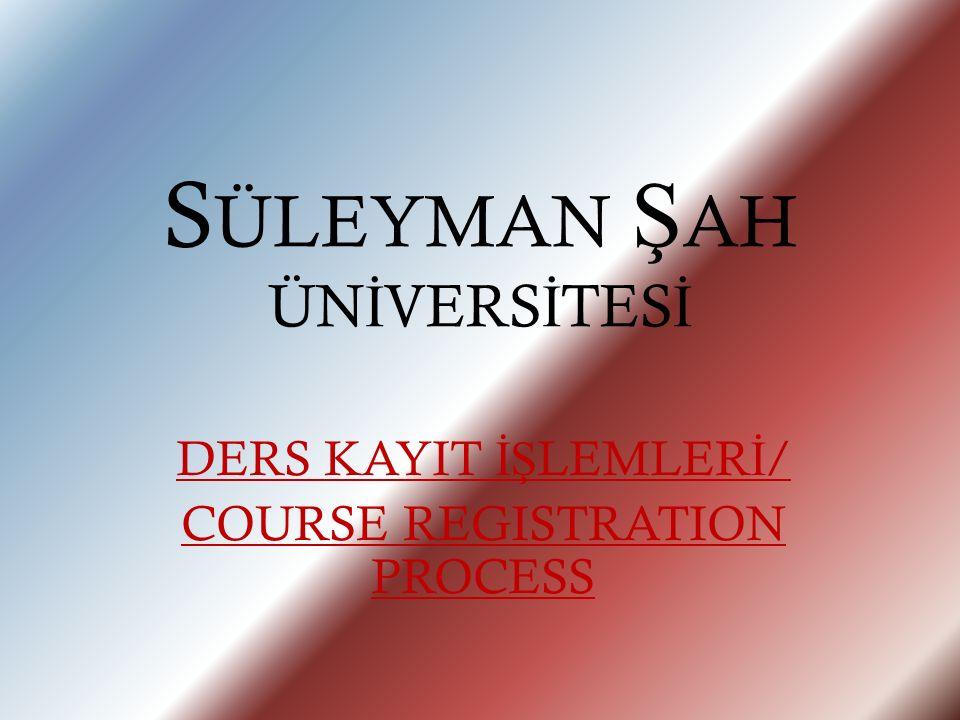 Seçtiğiniz derslerden emin olduktan sonra 'Onayla' butonuna tıklayınız./ If you have completed course selection, please click on Confirm