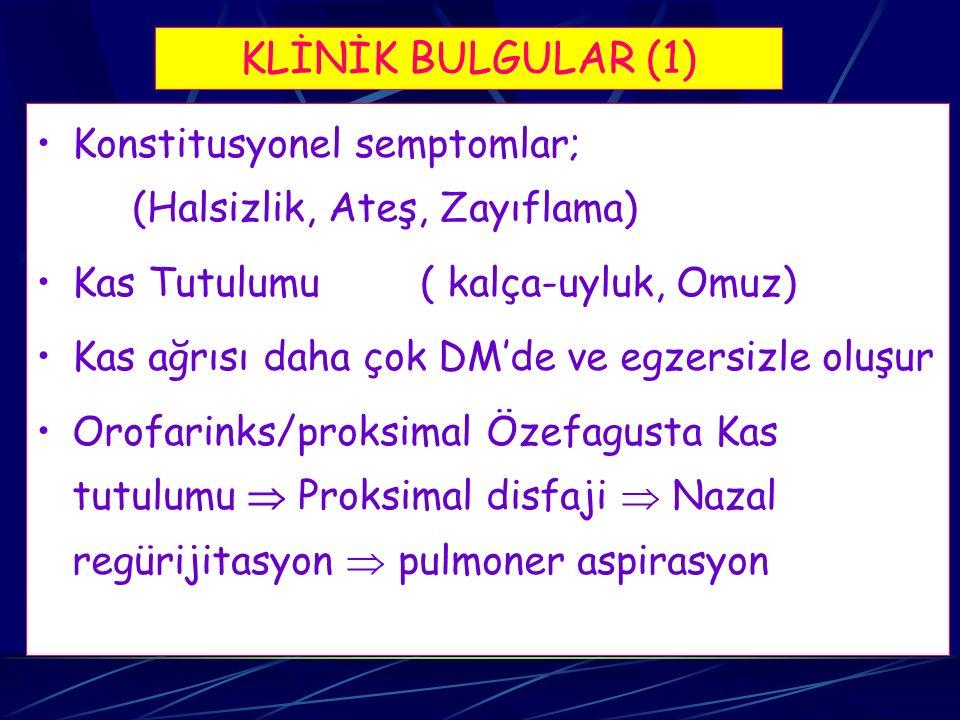 İNFLAMATUAR MİYOPATİLER 1.