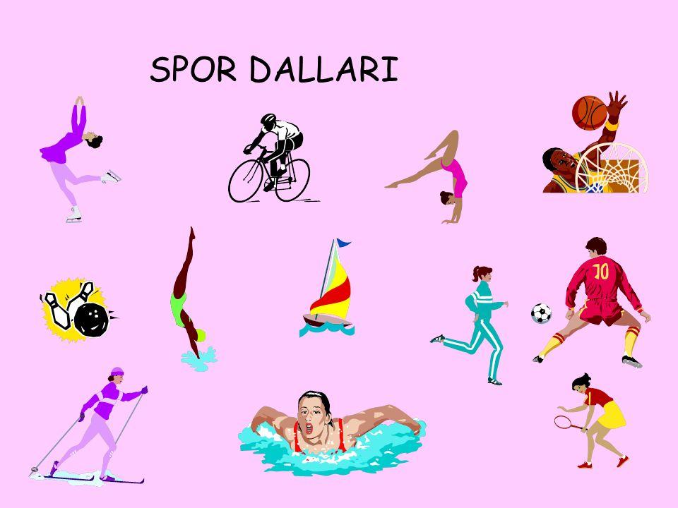 Basketbol topla oynanan çok zevkli bir spordur.