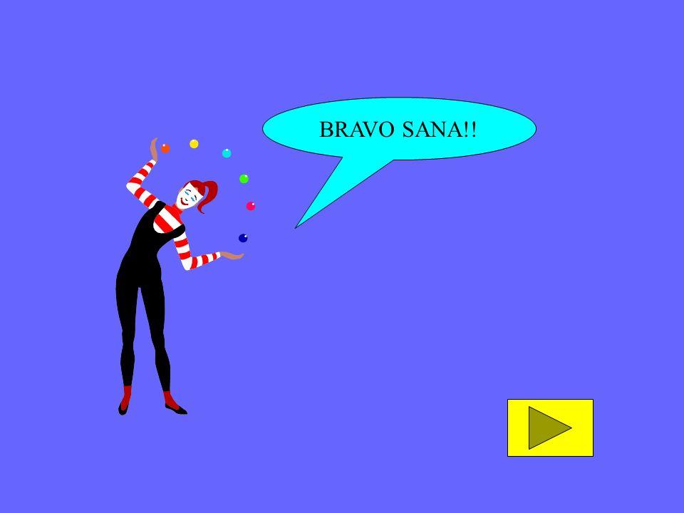 BRAVO SANA!!
