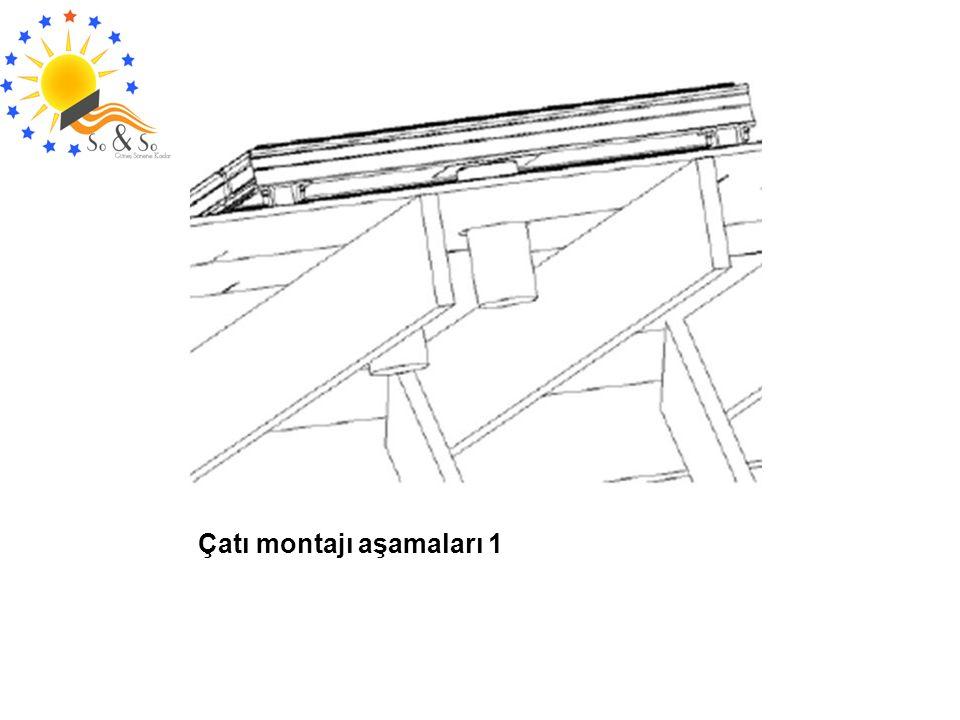 Çatı montajı aşamaları 1