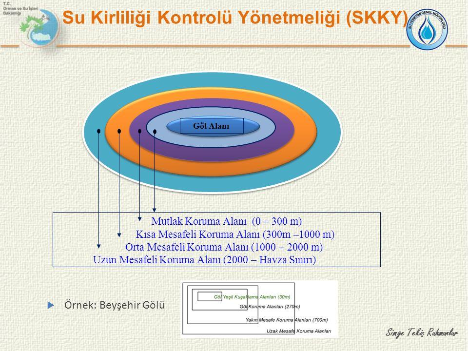 8 Rezervuar Yerüstü Suyu Koruma Alanları (SKKY) Mutlak Koruma Alanı 0-300 m Kısa Mesafeli Koruma Alanı 300-1000 m Orta Mesafeli Koruma Alanı 1000-2000 m Uzun Mesafeli Koruma Alanı 2000-havza sınırı Türkiye Koruma Alanları Yaklaşımı Simge Tekiç Rahmanlar