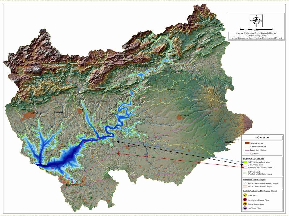 40 NOKONULARAÇIKLAMA 1 Seyhan Havzası Sektörel Su Tahsis Planı Hazırlanması Projesi 2Entegre Havza Yönetimi Projesi Proje Koordinasyonu Genel Müdürlüğümüzden alınıştır.