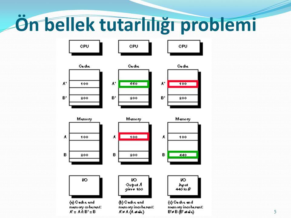 Ön bellek tutarlılığı problemi 5