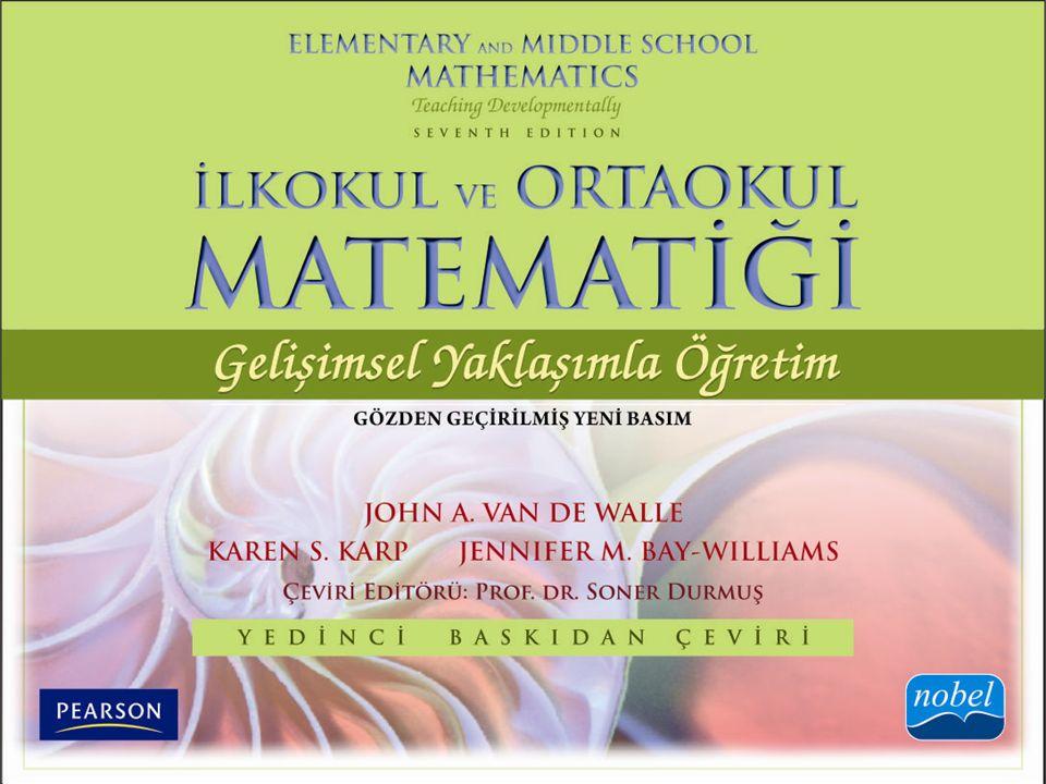 KISIM I Matematik Öğretme: Temeller ve Perspektifler BÖLÜM 5 Öğretimin Değerlendirme ile Yapılandırılması