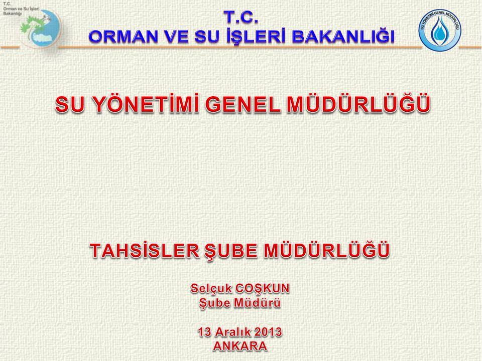 Türkiye'de su tahsisinde doğrudan ya da dolaylı olarak birden fazla yetkili kurum yer almaktadır.