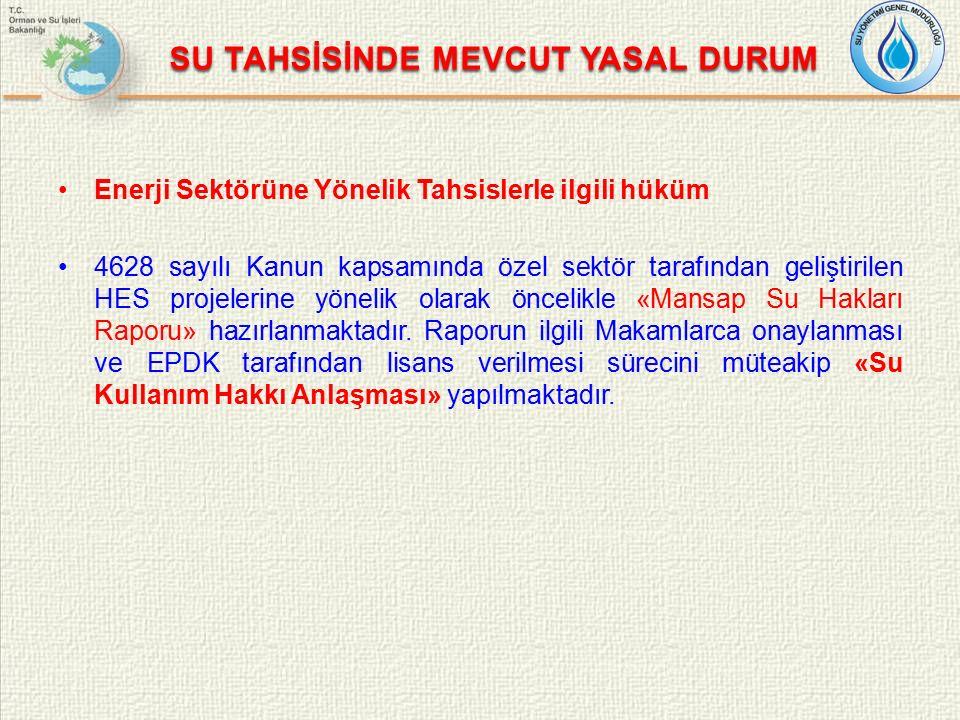2- Uluslararası Su Tahsisi Çalıştayı (Ankara) Çalıştay'da yer alan sunum başlıkları: Türkiye'de Su Tahsisi - Politikalar ve Uygulamalar, Diğer Ülkelerdeki Su Tahsisi Yapılanması – Türkiye için Değerli Örnekler, Uluslararası Deneyimler Doğrultusunda Türkiye'nin Su Tahsisi Politikalarında Belirlenen Hususlar ve Eksikliklerin Değerlendirilmesi.