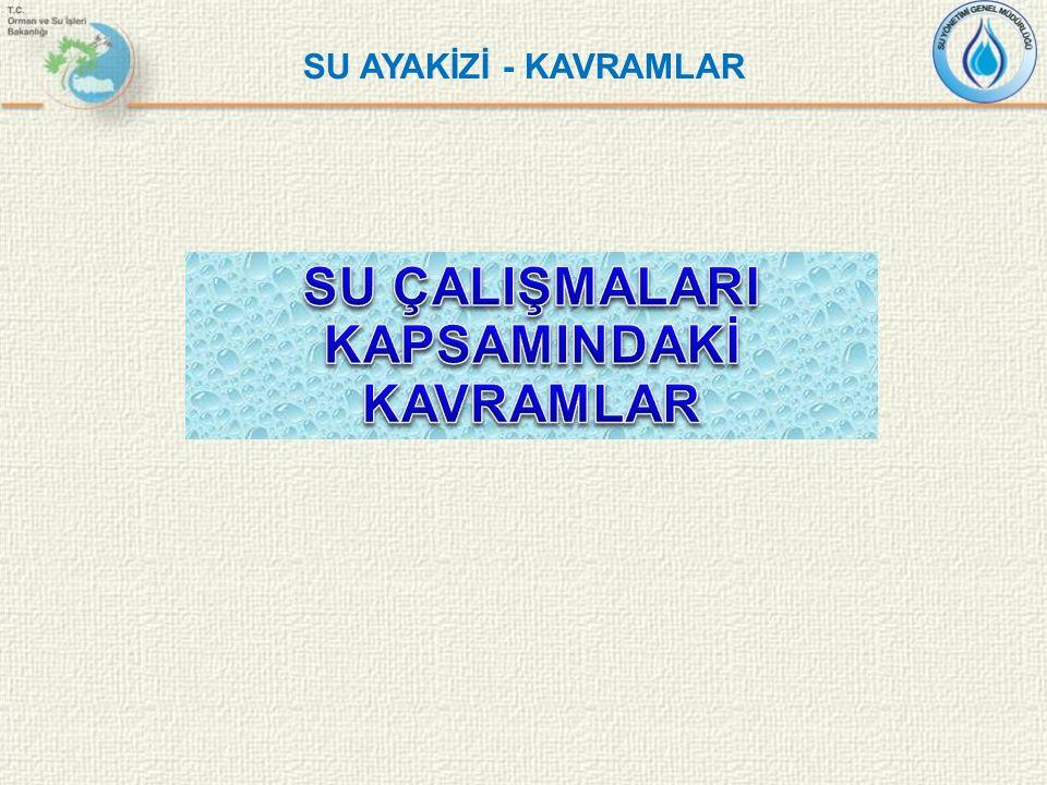 SU AYAKİZİ - KAVRAMLAR