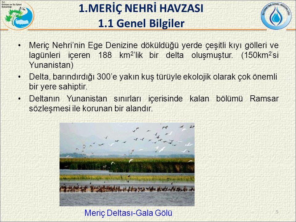  Taşkın tahmini ve erken uyarı sistemi için Meriç ve Tunca nehirlerinde 4 adet (Suakacağı, Değirmenyanı, Kirişhane ve Kapıkule) tam otomatik hidrometeorolojik istasyon tesisinin kurulması,  Meriç Nehri üzerinde kendi ülke sınırlarımız içindeki yaklaşık 7.5 km'lik kısımda nehir yatağı düzenlenmesi,  Edirne'de Meriç ve Tunca nehirleri arasında 1275 m uzunluğunda ve 20 metre genişliğinde bir bağlantı kanalının açılması gerçekleştirilmiştir.