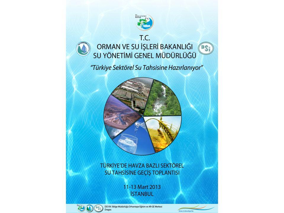 Toplantı Programı  Açılış  Çalışma Grubu Toplantıları: Tahsise Yönelik Mevzuat ve Uygulamalar o Mevcut Tahsis Uygulamaları o Su Hakkı Kavramı ve Mevzuatımıza Aktarımı o Tahsisler Neticesinde Oluşabilecek İhtilaflara Karşın Geliştirilecek Prosedür o Sektör Temsilcileri Sorunları, Çözüm Önerileri ve Değerlendirmeler Sektörel Su Tahsislerde Kurum ve Kuruluşların- Görev ve Sorumlulukları Sektörel Su Tahsisi Çalışmaları ile Havza Bazında Yürütülen Planlama Çalışmaları, Projeler ve Teşvikler Arasında Kurulabilecek İlişkiler