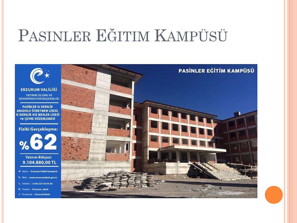 P ASINLER E ĞITIM K AMPÜSÜ