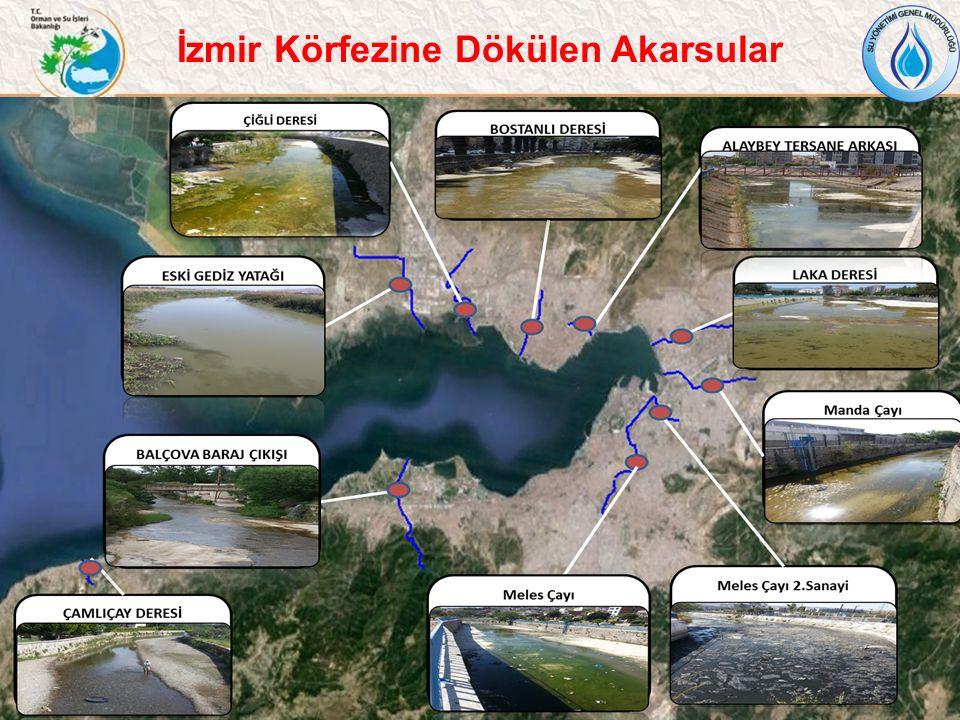 6 İzmir Körfezine Dökülen Akarsular