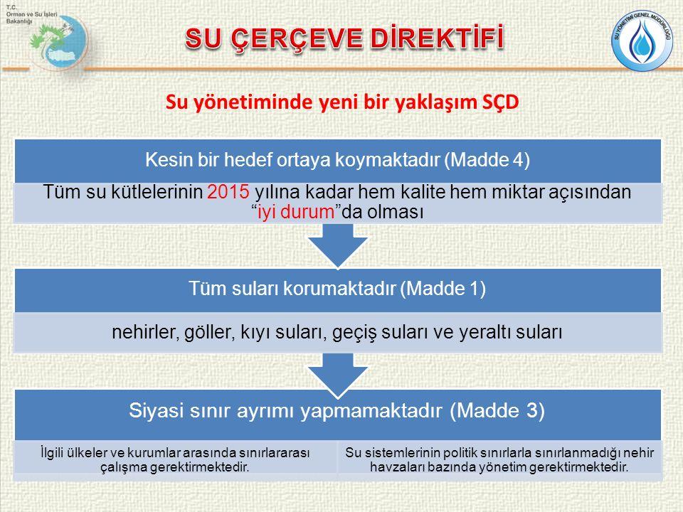 Siyasi sınır ayrımı yapmamaktadır (Madde 3) İlgili ülkeler ve kurumlar arasında sınırlararası çalışma gerektirmektedir.
