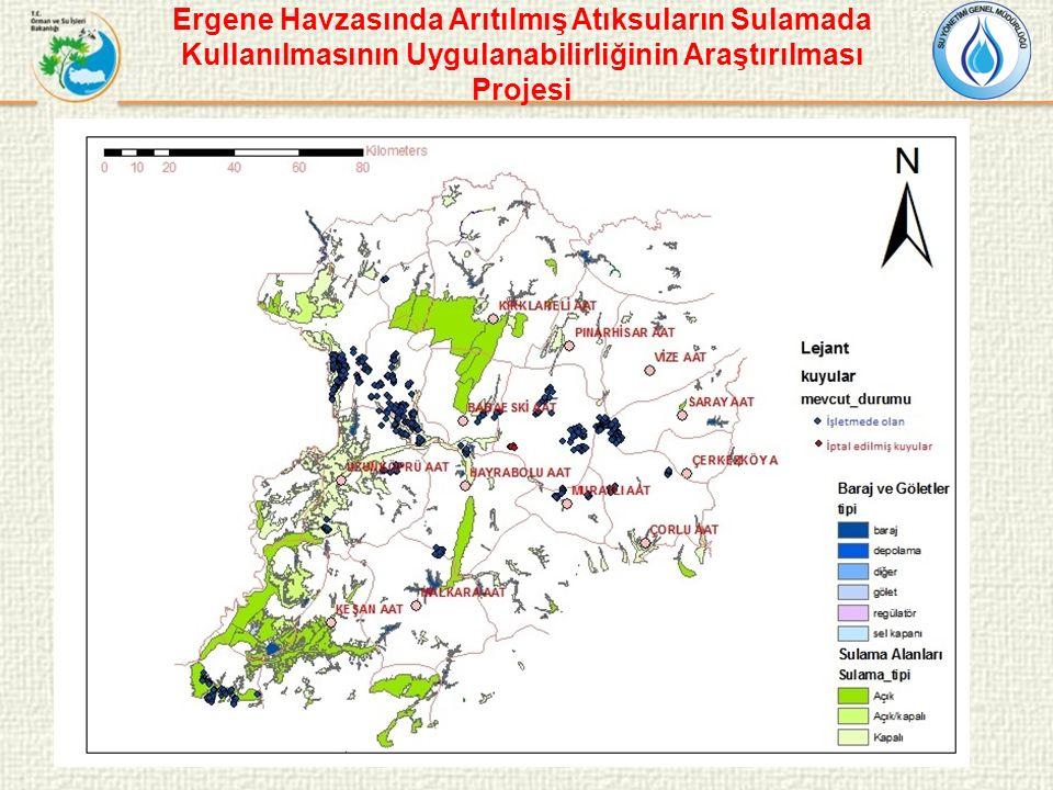Ergene Havzasında Arıtılmış Atıksuların Sulamada Kullanılmasının Uygulanabilirliğinin Araştırılması Projesi