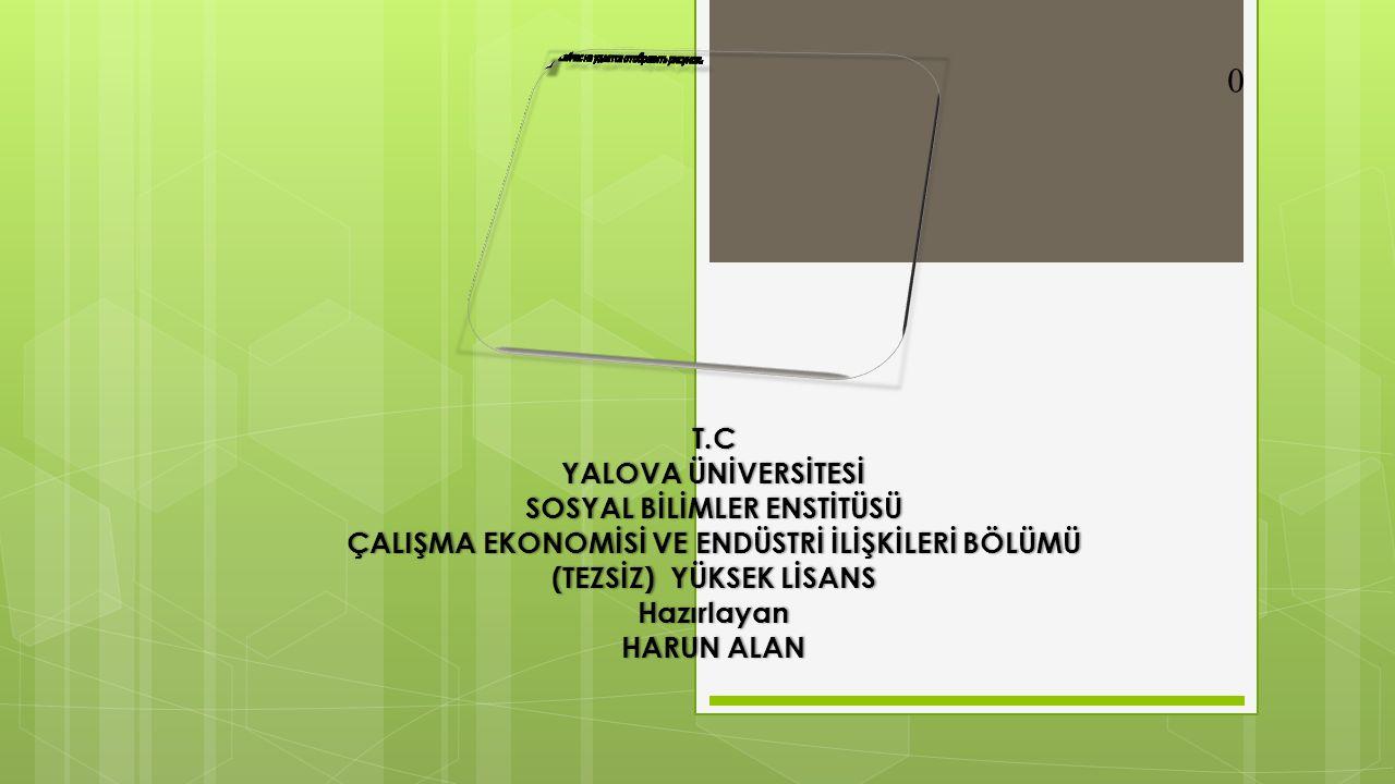 TÜRKİYE'DE GİRİŞİMCİLİK DURUMU ; GEM 2012 Raporundaki Türkiye izleri; 2012 yılında 69 ülkeden 198.000 kişi ile yapılan anket sonucu oluşturulan Küresel Girişimcilik Raporu'na (GEM) göre, Avrupa'da krizin etkisinin en fazla hissedildiği 2012 yılında Türkiye nin girişimcilik notu %11.9'dan %12.22'ye yükselmiş.